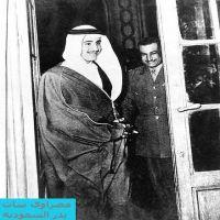 الملك سلمان في صور