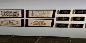 من ابداعات الفنانين التشكيليين في مهرجان الألف لوحة ..من 18 ابريل الى 15 مايو 2015  في مركز الخياط جدة