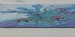 عنفوان لون .    الفنانة التشكيلية رجاء القرشى
