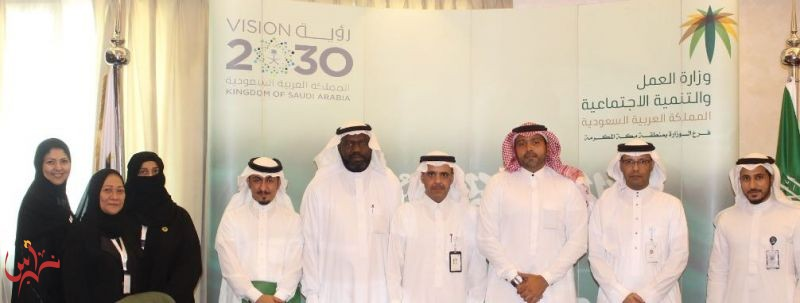 Under the supervision of the Ministry of Labor in Makkah Red Sea Mall launched its flagship Productive Families initiative  for the third consecutive year Welcoming two productive families registered in social security per week