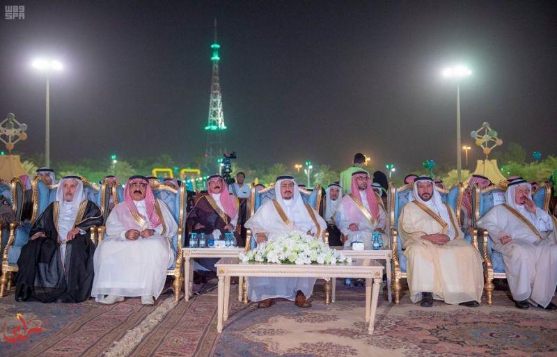 وكيل إمارة منطقة القصيم يشهد احتفال المنطقة باليوم الوطني