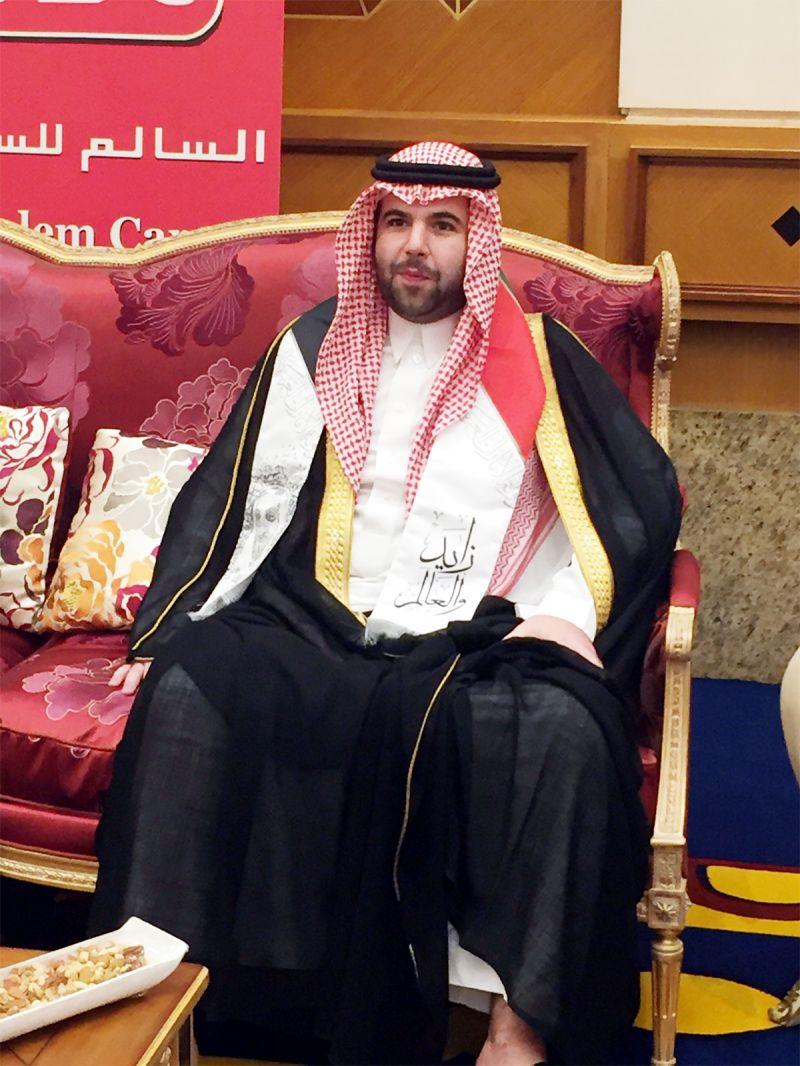 خلال حضوره لحفل قنصلية الإمارات بجدة