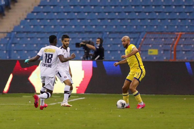 النصر يحسم مواجهة العدالة بفوز عريض في دوري كأس الأمير محمد بن سلمان