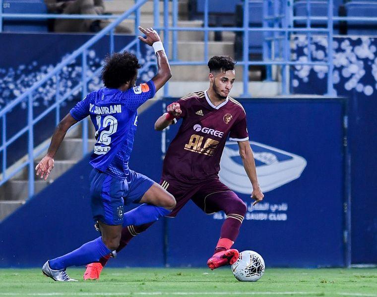 الهلال يحسم مواجهة الفيصلي للفوز في دوري كأس الأمير محمد بن سلمان