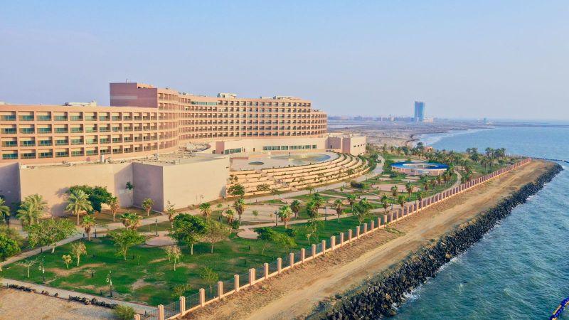 فنادق ومنتجعات ميلينيوم الشرق الأوسط وأفريقيا تفتتح ثاني جراند ميلينيوم في السعودية في منطقة جازان جراند ميلينيوم جازان هو الوجهة المميزة الجديدة في المملكة بسعة 276 غرفة
