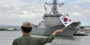 """Republic of Korea Navy Cruise Training Task Group enters Port Jeddah"""