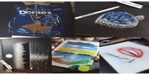 هند العتيبي وموهبة الرسم ومشاركات محلية مميزة