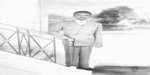 كاتب وأمين صندوق الخاصة الملكية في عهد الملك عبد العزيز الشيخ / مبروك مشني سعيد السعيد