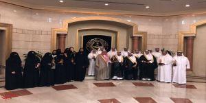 محافظ جدة الأمير مشعل بن ماجد يستقبل الفائزين والفائزات بجائزة التعليم للتميز الوزاري