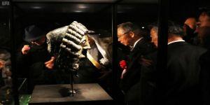 الأمير سلطان بن سلمان يوافق على طلب المتحف الوطني الياباني بتمديد معرض روائع آثار المملكة 56 يوماً