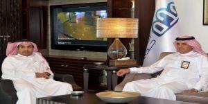 أمين جدة المكلف يستقبل مدير الشؤون الصحية بالمحافظة