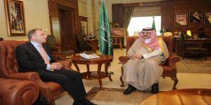صاحب السمو الملكي الأمير مشعل بن ماجد بن عبدالعزيز محافظ جدة يستقبل سفير مملكة  هولندا لدى المملكة