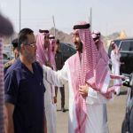 نائب أمير منطقة مكة المكرمة يتفقد ميقات قرن المنازل (السيل الكبير)