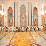 خادم الحرمين الشريفين يقيم حفل الاستقبال السنوي لأصحاب الفخامة والدولة وكبار الشخصيات الإسلامية الذين أدوا فريضة الحج هذا العام