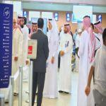 """الجاسر يقف على مواقع الخدمات ويترأس اجتماع القيادات التنفيذية في مبنى العمليات الجوية بمطار المؤسس  """"السعودية"""" تطلق عملياتها التشغيلية لإعادة الحجاج إلى أكثر من (100) وجهة"""
