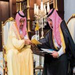الأمير حسام بن سعود يستقبل أمين منطقة الباحة ورؤساء البلديات بالمنطقة