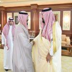 أمير منطقة جازان بالنيابة يستقبل مدير فرع الشؤون الإسلامية ومديري المكاتب الدعوية بالمنطقة