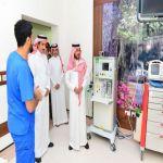 نائب أمير حائل يتفقد مستشفى الملك سلمان التخصصي