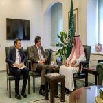 وكيل وزارة الخارجية للشؤون الدولية يستقبل سفراء تركيا والمكسيك والبيرو