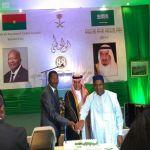 سفارة المملكة في بوركينا فاسو تحتفل بذكرى اليوم الوطني الـ 88 للمملكة