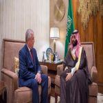 محمد بن سلمان يلتقي مبعوث بوتين لشؤون الأزمة السورية