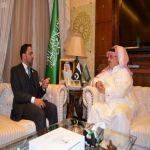 سفير خادم الحرمين الشريفين لدى باكستان يلتقي سفير دولة الإمارات العربية المتحدة