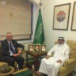 وكيل وزارة الخارجية لشؤون الدبلوماسية العامة يستقبل سفير الدنمارك لدى المملكة