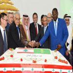 حفل استقلال حاشد في قنصلية لبنان العامة في جدة.