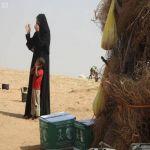 مركز الملك سلمان للإغاثة يوزع 60 طنًا من السلال الغذائية في عدة قرى بمديرية حيران في محافظة حجة