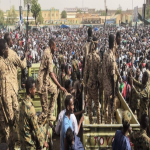 قوى الحراك الشعبي ترفض بيان الجيش السوداني