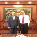 سفير المملكة لدى فيتنام يلتقي نائب وزير الزراعة والتنمية الريفية الفيتنامي