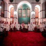 سمو ولي العهد يلتقي مجموعة من المثقفين السعوديين