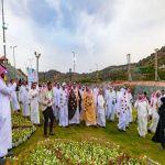تدشين مهرجان الورود والعطور في محافظة القرى بالباحة