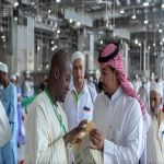 """إدارة الممرات بالمسجد الحرام تطلق مبادرة """" الممرات في استقبال ضيوف الرحمن """""""