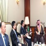 الأمير تركي بن محمد بن فهد يستقبل سفير الصين لدي المملكة