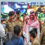 سمو وزير الداخلية يتابع إجراءات تنفيذ خطة أمن الحج في ساحات المسجد الحرام وبواباته الرئيسية