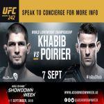 بطولة العالم للفنون القتالية المختلطة UFC في طريقها إلى أبوظبي – أنانتارا القرم الشرقي أبوظبي يطلق باقة خاصة تشمل تذكرتين لحضور الفعالية الأكثر ترقبًا UFC242