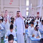 تابع ميدانيا انطلاقة الاختبارات  ل (550.000 ) طالب وطالبة :
