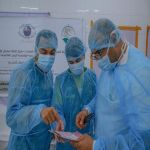 مركز الملك سلمان يجري321 عملية في بنغلادش