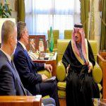 سمو أمير الرياض يستقبل سفير جمهورية كوسوفا لدى المملكة