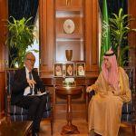 وزير الدولة للشؤون الخارجية يستقبل المبعوث الفرنسي الخاص بشأن السودان وجنوب السودان