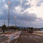 أمطار على محافظة الوجه