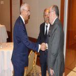 السفير المعلمي يقيم حفل استقبال على شرف الشربا السعودي لدى مجموعة العشرين
