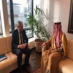 وزير الدولة للشؤون الخارجية يلتقي المفوض الأوروبي لشؤون العدل