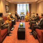 وزير الدولة للشؤون الخارجية يستقبل مبعوث الاتحاد الأوروبي الخاص للقرن الأفريقي