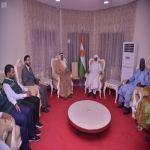 سفير المملكة لدى النيجر يلتقي رئيس مجلس وزراء النيجر