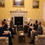 سمو وزير الخارجية يلتقي المستشار السياسي لرئيس الوزراء نائب مستشار الأمن القومي البريطاني
