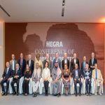 اختتام مؤتمر الحِجر الأول للحائزين على جائزة نوبل 2020 في العلا