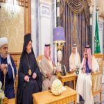 خادم الحرمين الشريفين يستقبل الأمين العام لمركز الملك عبدالله العالمي للحوار بين أتباع الأديان والثقافات