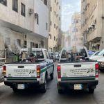 أمانة العاصمة المقدسة تطهر 55 ألف موقع في مكة المكرمة